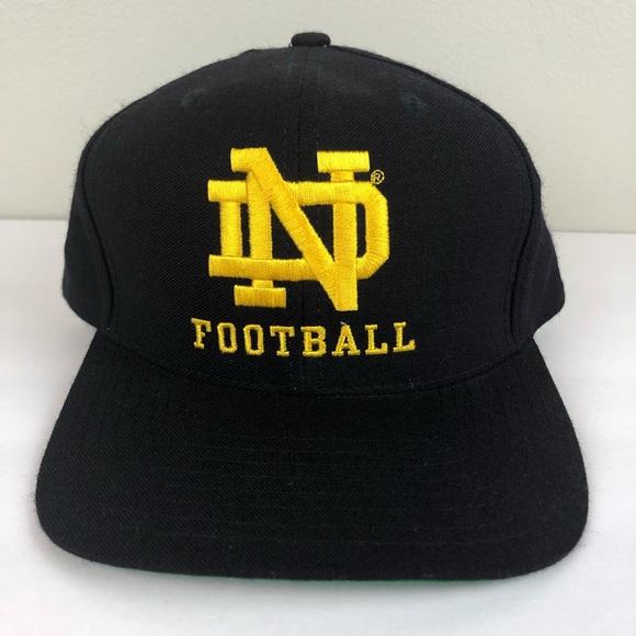 17be7a6d Notre Dame Football Reebok Vintage Snapback Hat